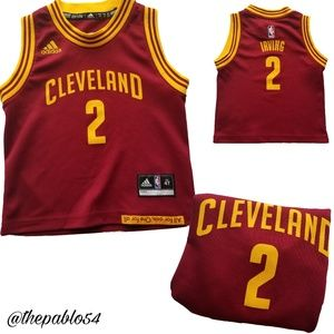 Toddler's Kyrie Irvine Adidas Cleveland Cavaliers